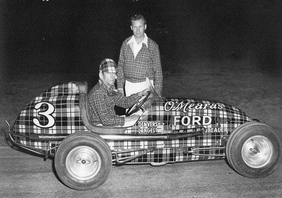 chuck richards midget auto racing